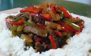Chinese Pepper Steak